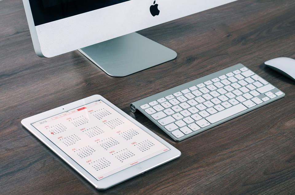 ipad y mac calendario